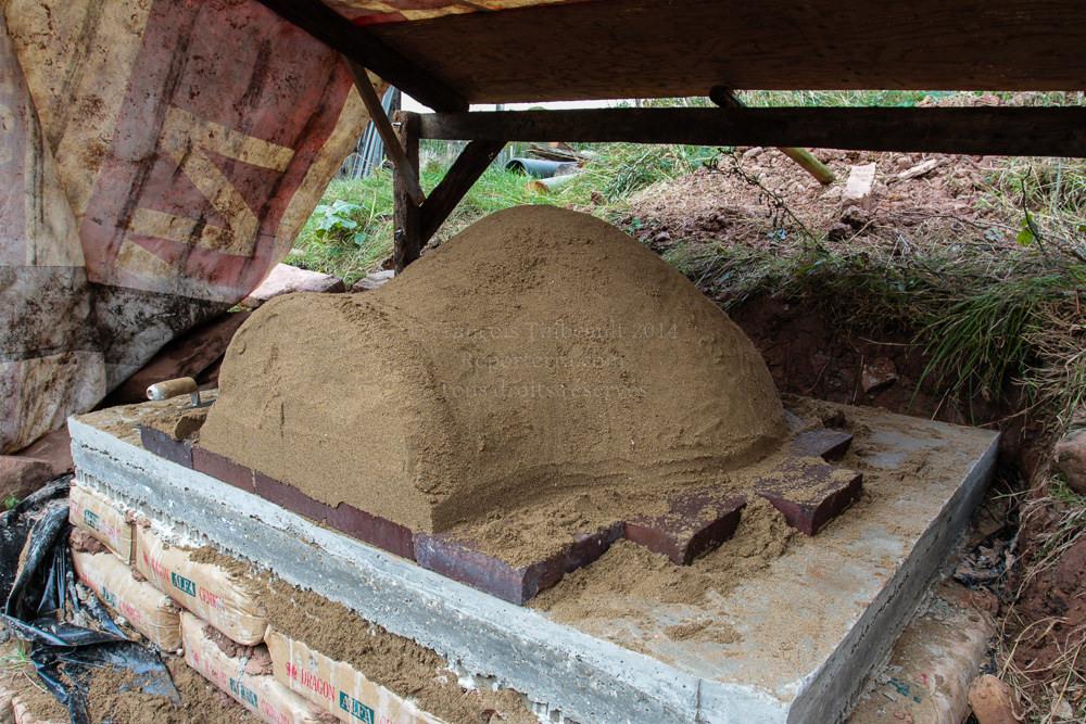 Atelier formation construction de fours pain en argile - Plan de four a pain exterieur ...